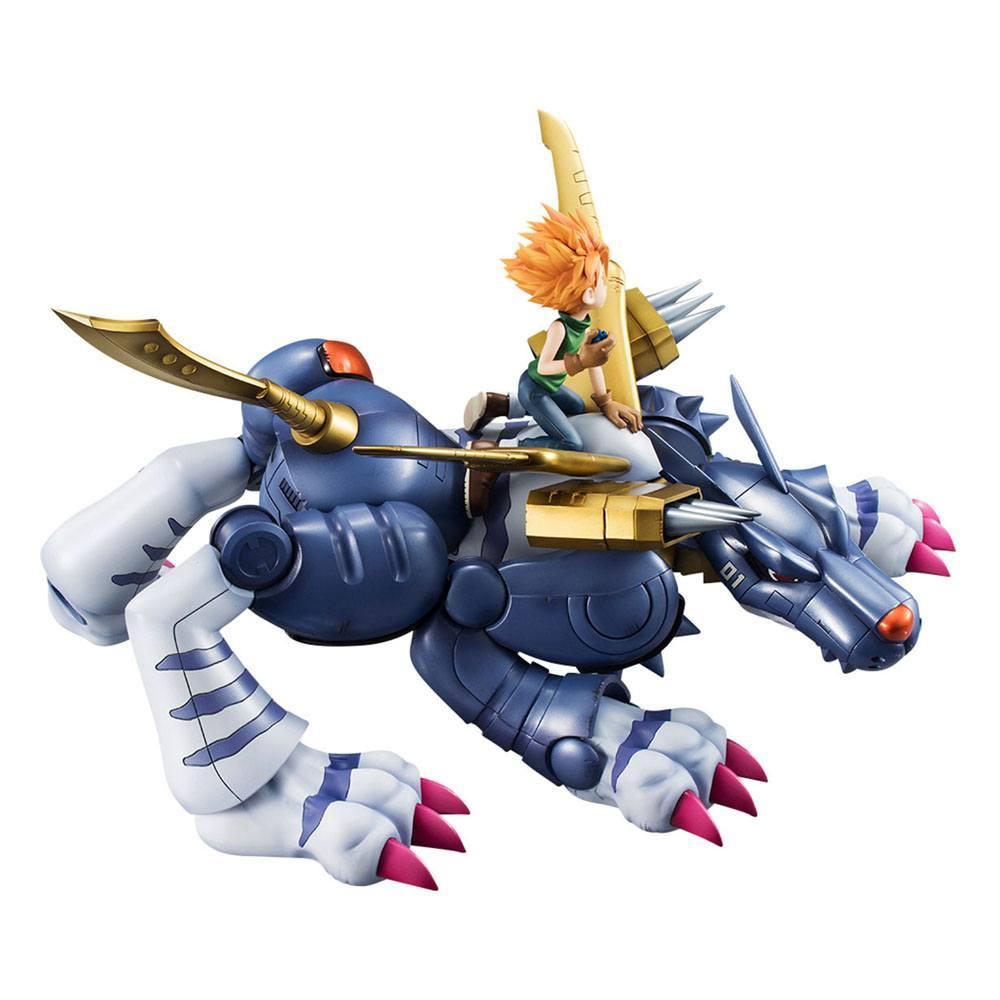Digimon adventure g e m precious series statuette pvc metal garurumon ishida yamato 30 cm 7
