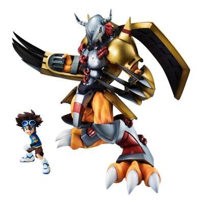 Digimon Adventure G.E.M. Series statuette PVC Wargreymon & Taichi 25 cm
