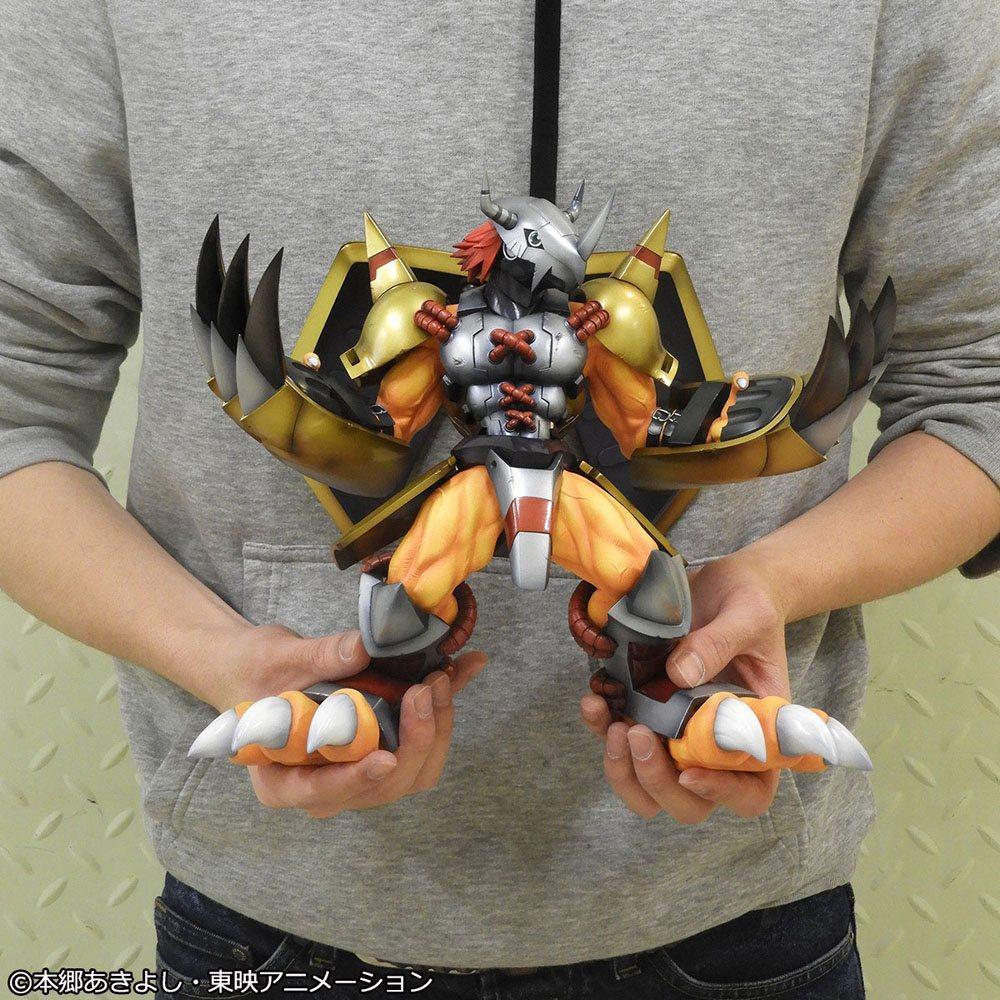 Digimon adventure g e m series statuette 25cm suukoo toys megahouse 2
