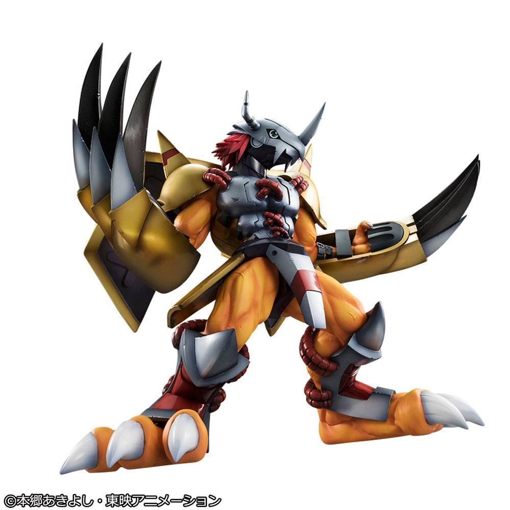 Digimon adventure g e m series statuette 25cm suukoo toys megahouse 4