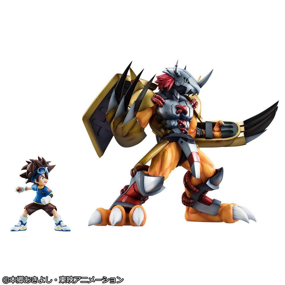 Digimon adventure g e m series statuette 25cm suukoo toys megahouse 7
