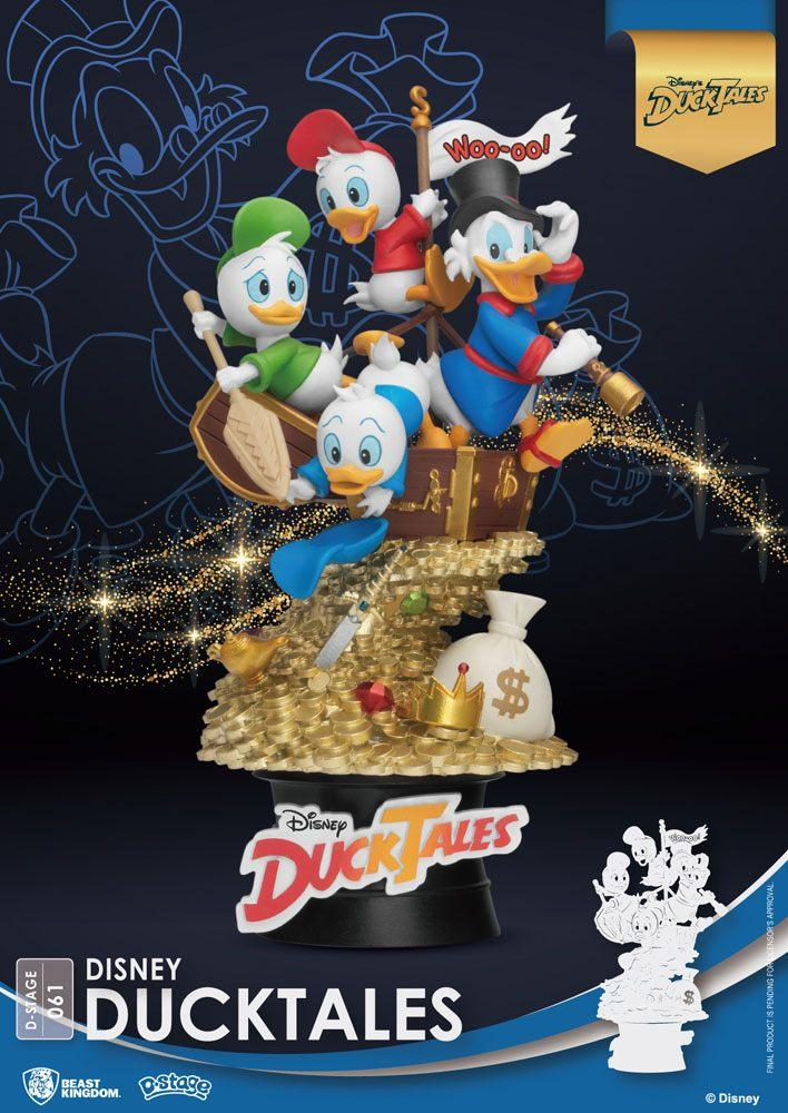 Disney classic animation series diorama pvc d stage ducktales 15 cm 1