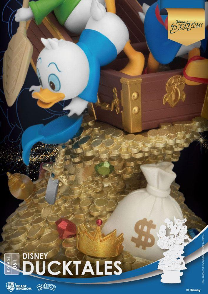 Disney classic animation series diorama pvc d stage ducktales 15 cm 3