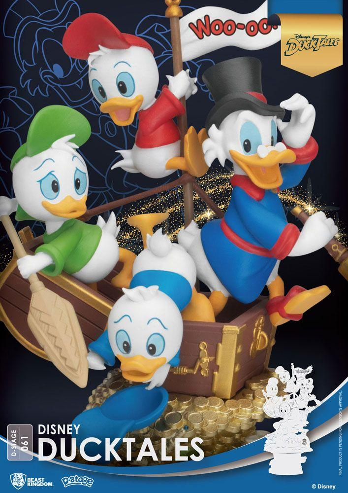 Disney classic animation series diorama pvc d stage ducktales 15 cm 4