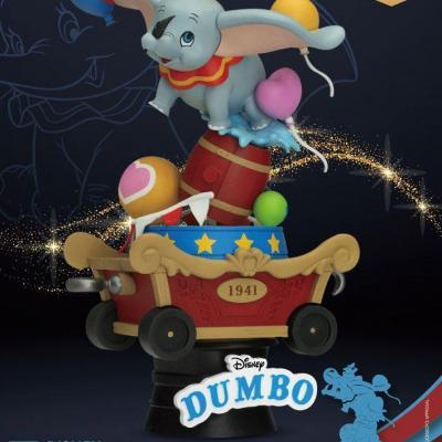 Disney Classic Animation Series diorama PVC D-Stage Dumbo 15 cm