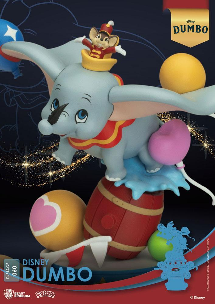 Disney classic animation series diorama pvc d stage dumbo 15 cm 3