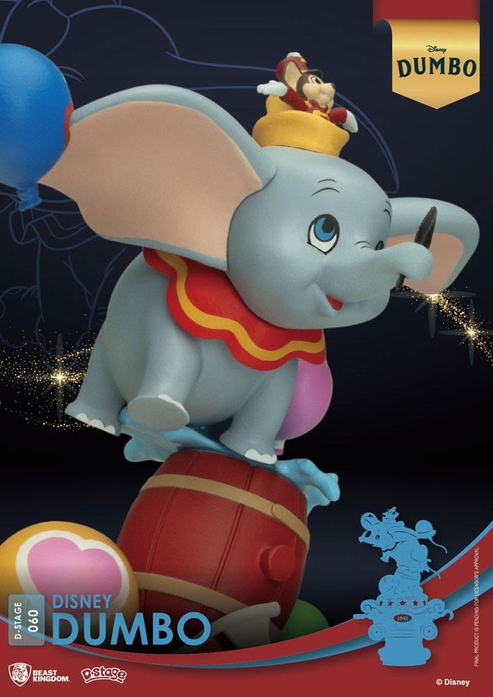 Disney classic animation series diorama pvc d stage dumbo 15 cm 4