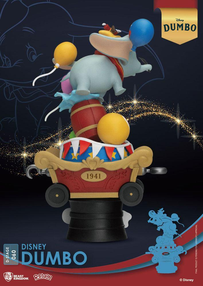 Disney classic animation series diorama pvc d stage dumbo 15 cm 5