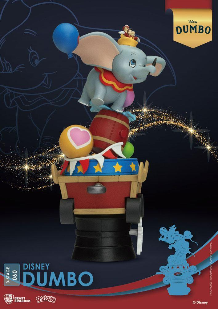 Disney classic animation series diorama pvc d stage dumbo 15 cm 6