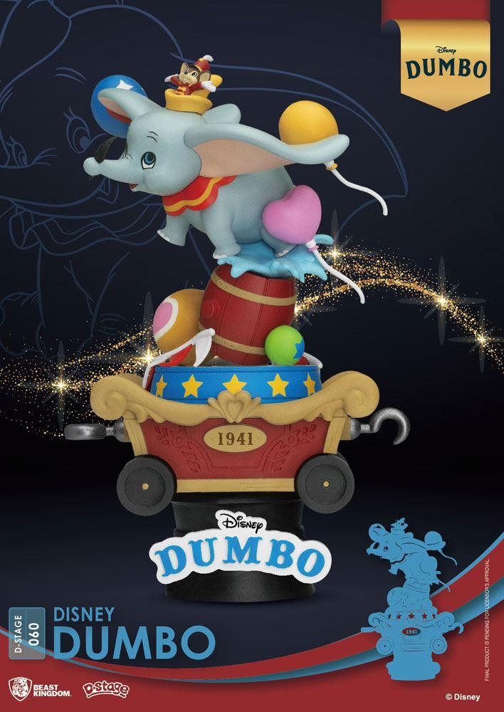 Disney classic animation series diorama pvc d stage dumbo 15 cm 7
