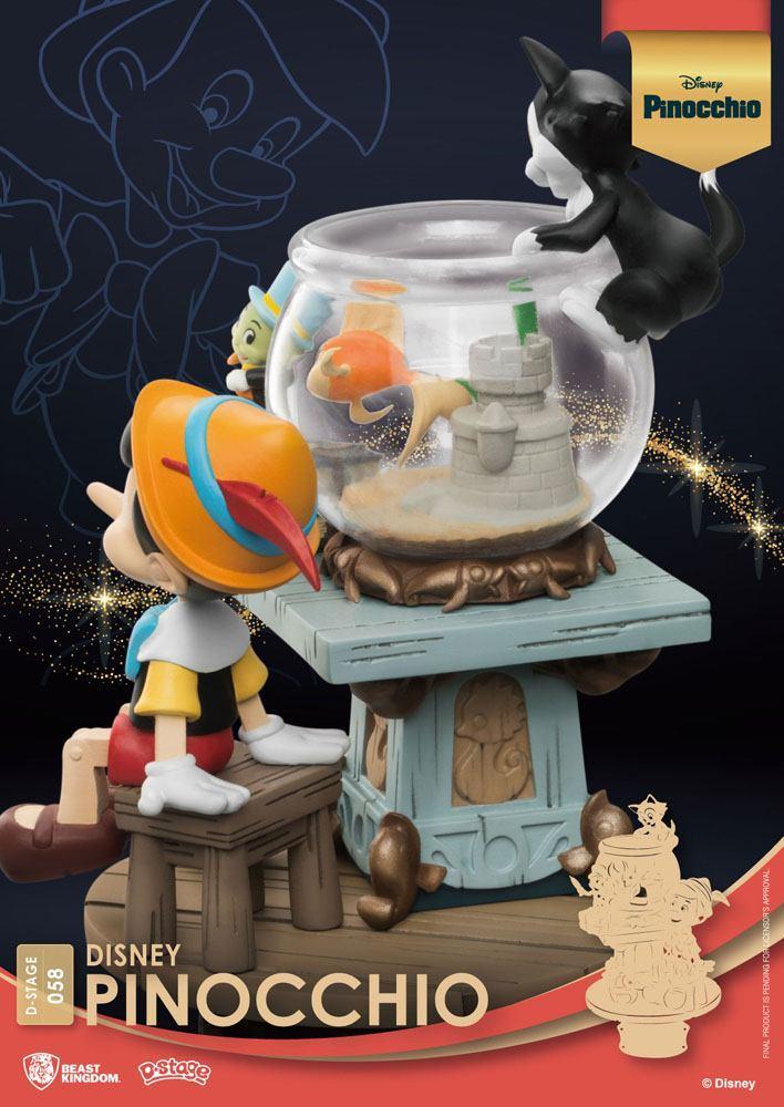 Disney classic animation series diorama pvc d stage pinocchio 15 cm 2