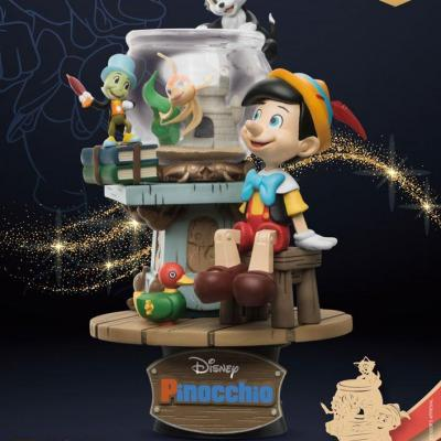 Disney Classic Animation Series diorama PVC D-Stage Pinocchio 15 cm