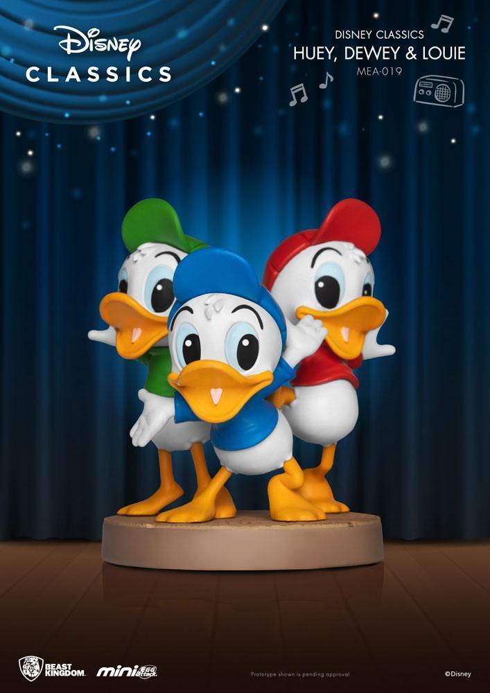 Disney classic series figurine mini egg attack huey dewey louie 8 cm 1