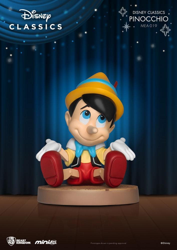 Disney classic series figurine mini egg attack pinocchio 8 cm 2