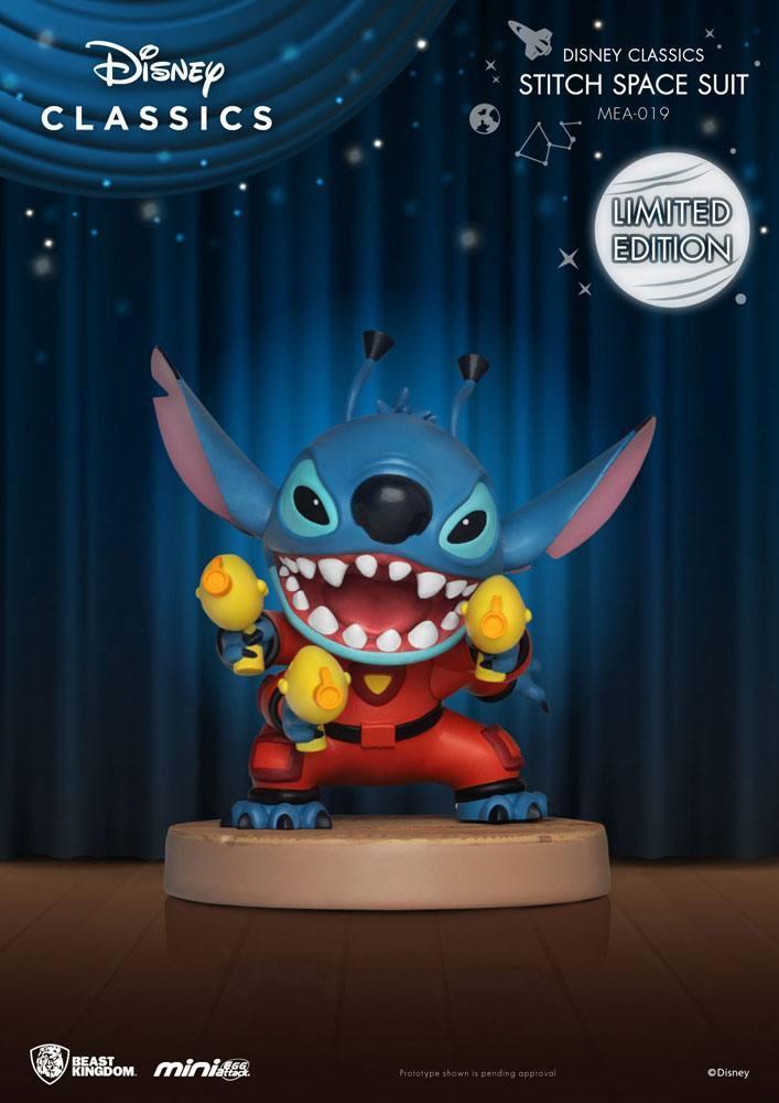 Disney classic series figurine mini egg attack stitch space suit 8 cm 1