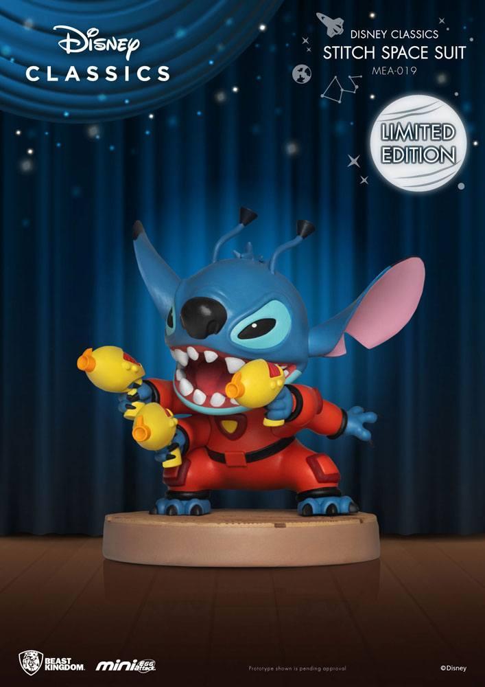 Disney classic series figurine mini egg attack stitch space suit 8 cm 2