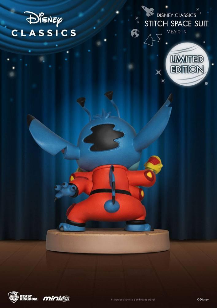 Disney classic series figurine mini egg attack stitch space suit 8 cm 3