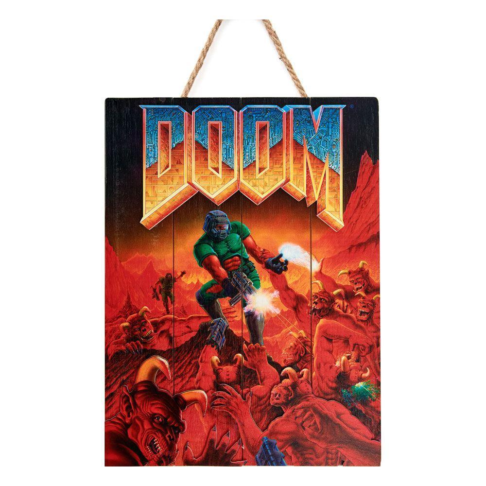 Doom print art wood tableau en bois suukoo toys 1