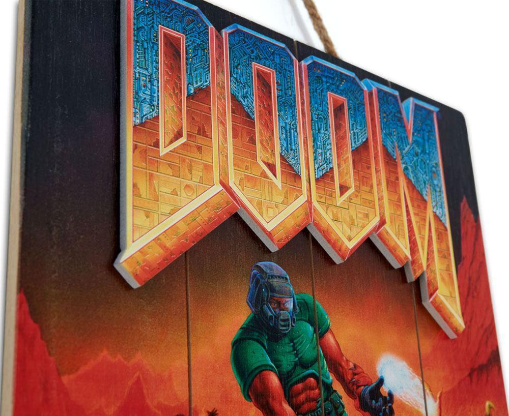 Doom print art wood tableau en bois suukoo toys 4