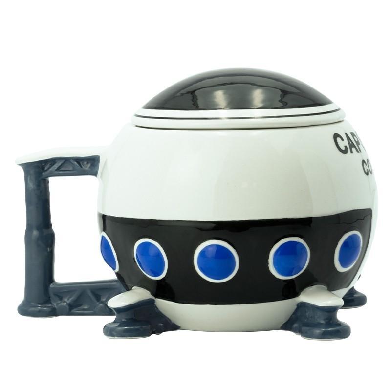 Dragon ball mug 3d vaisseau capsule corp x2 1