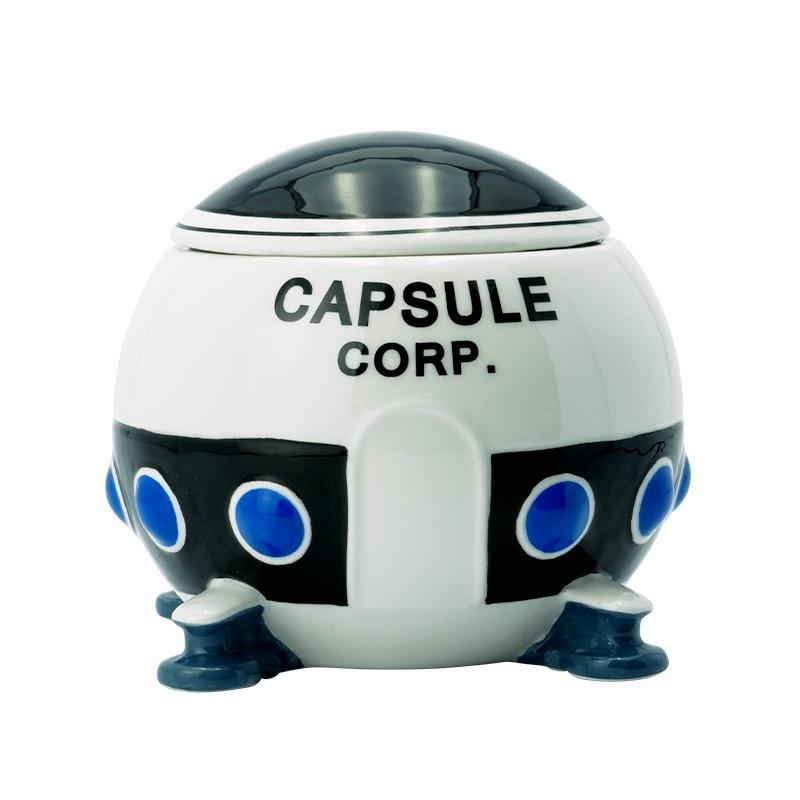 Dragon ball mug 3d vaisseau capsule corp x2