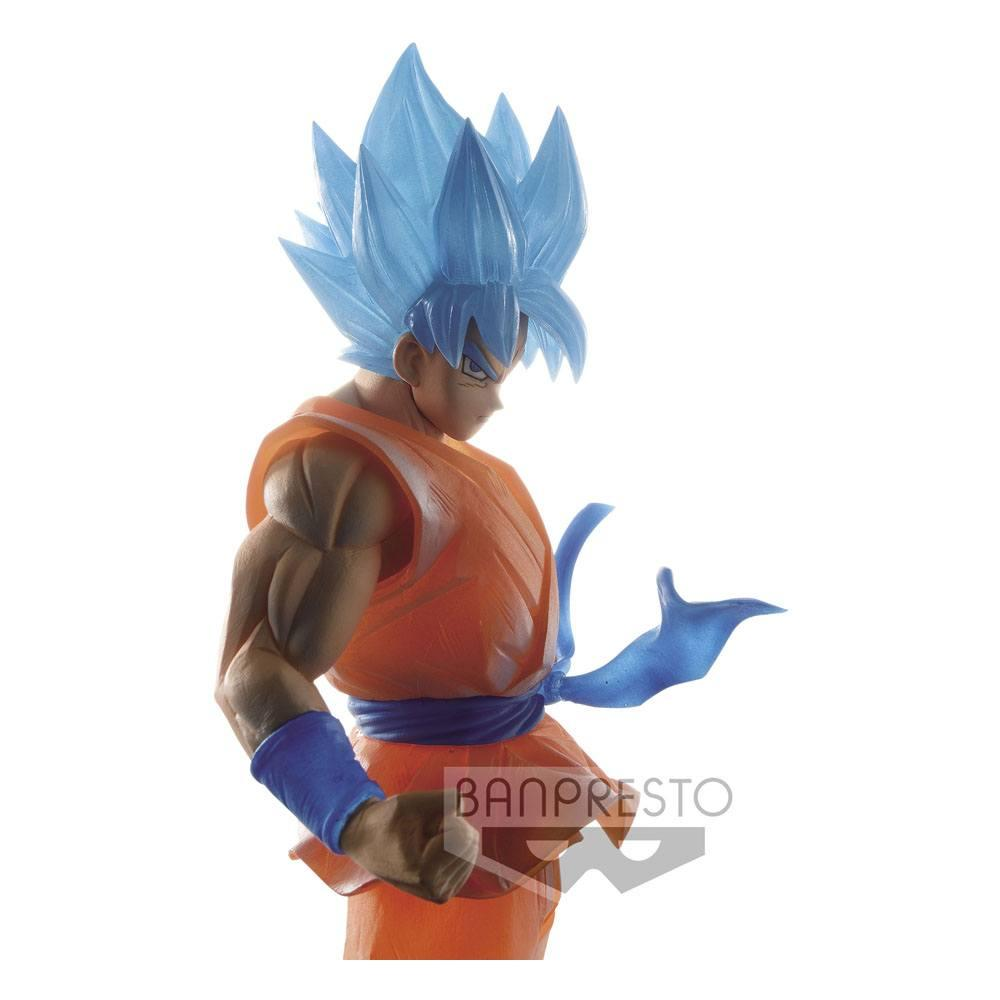 Dragon ball super banpresto clearise super saiyan god super saiyan son goku 4