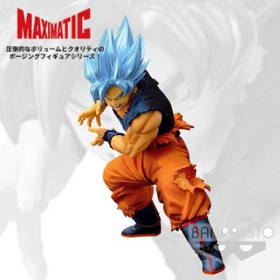 Dragon ball super figurine the son goku ssgss maximatic