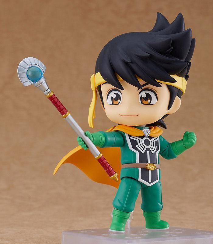 Dragon quest the legend of dai figurine nendoroid popp suukoo toys 6