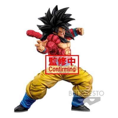 Dragonball super statuette super master stars piece super saiyan 4 son goku two dimentions 25 cm