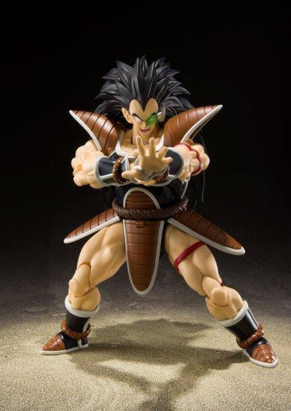 Dragonball z figurine s h figuarts raditz 17 cm 3
