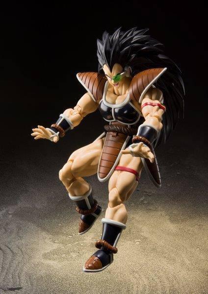 Dragonball z figurine s h figuarts raditz 17 cm 6