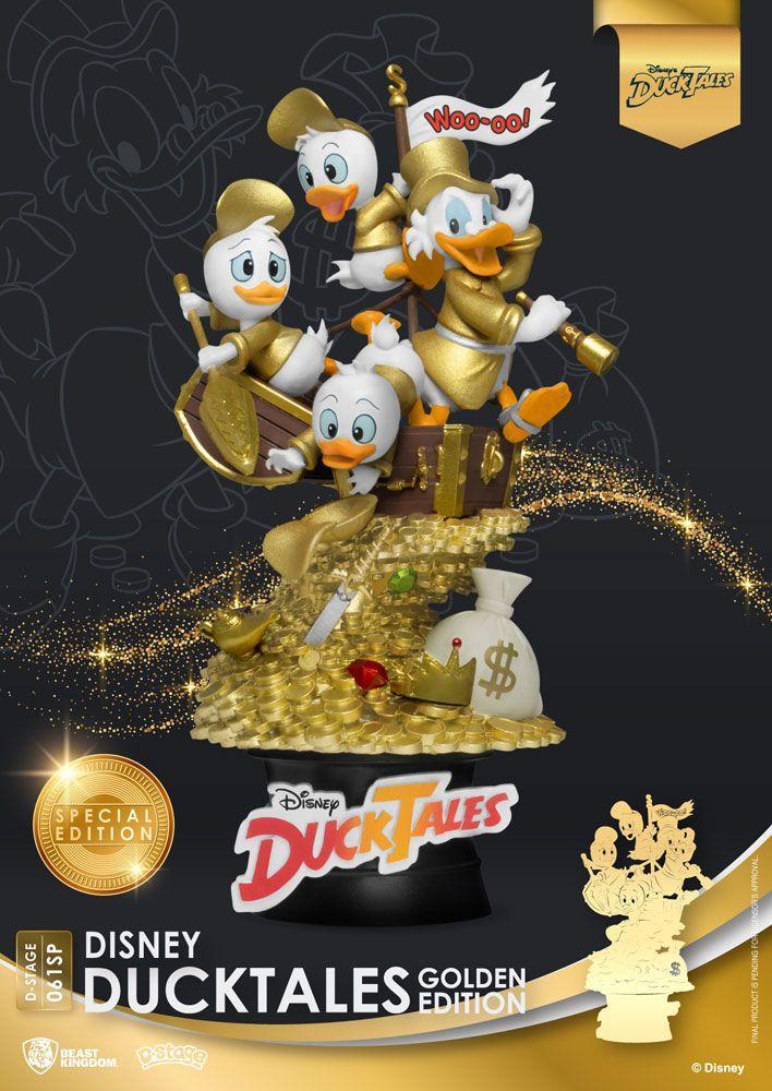 Ducks tales golden edition suukoo toys figurine collection 1
