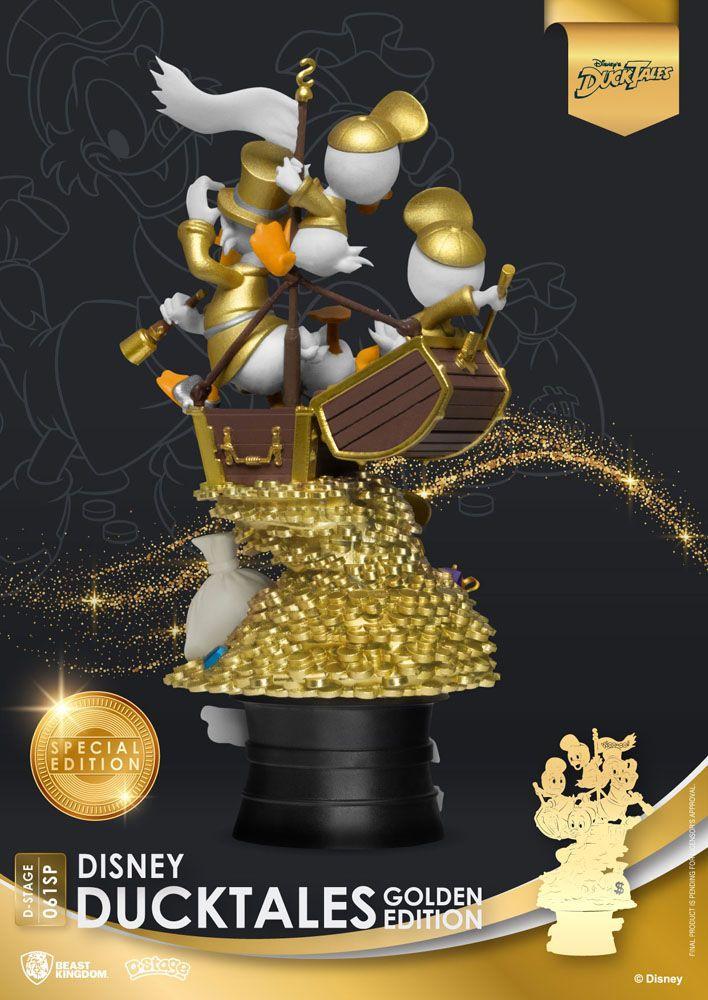Ducks tales golden edition suukoo toys figurine collection 4