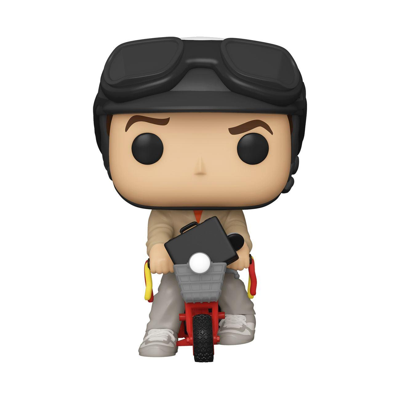 Dumb and dumber pop figurine lloyd christmas on bicycle 1