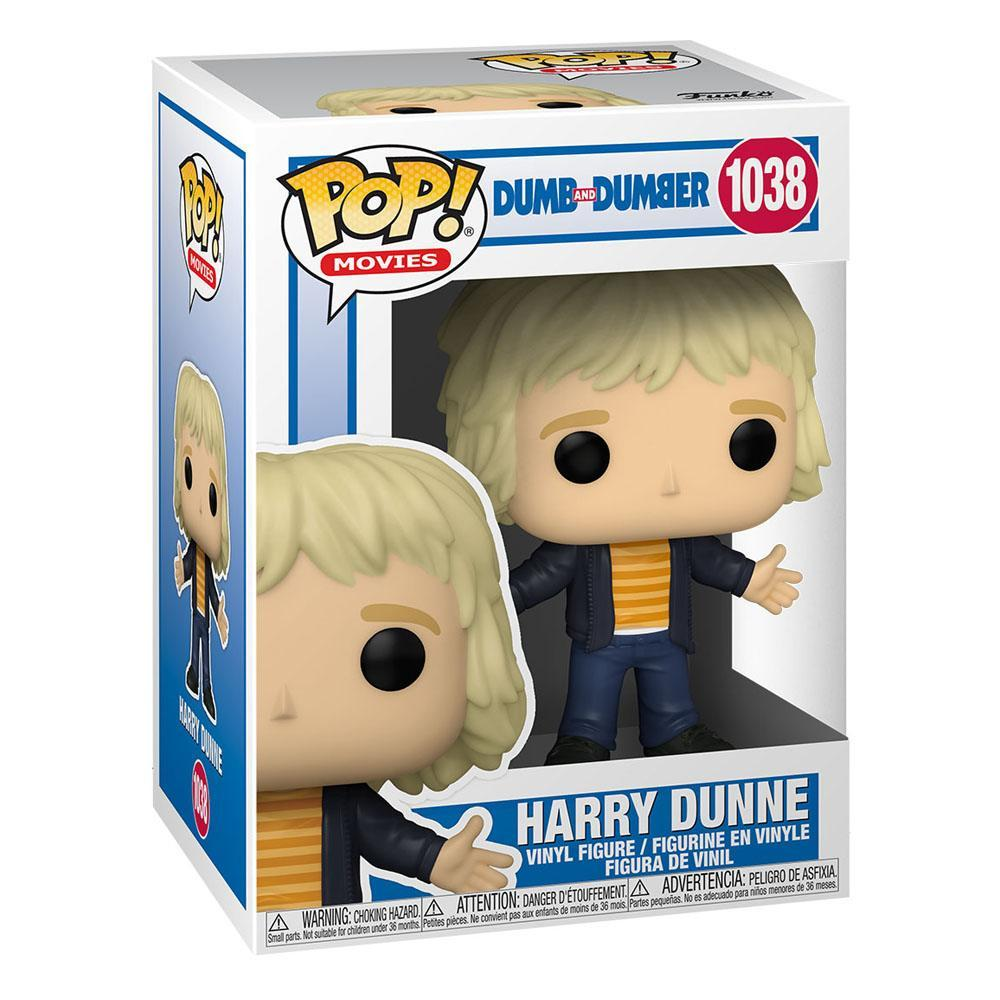Dumb and dumber pop movies vinyl figurine harry dunne 9 cm 2