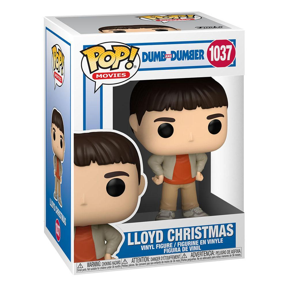 Dumb and dumber pop movies vinyl figurine lloyd christmas 9 cm 2