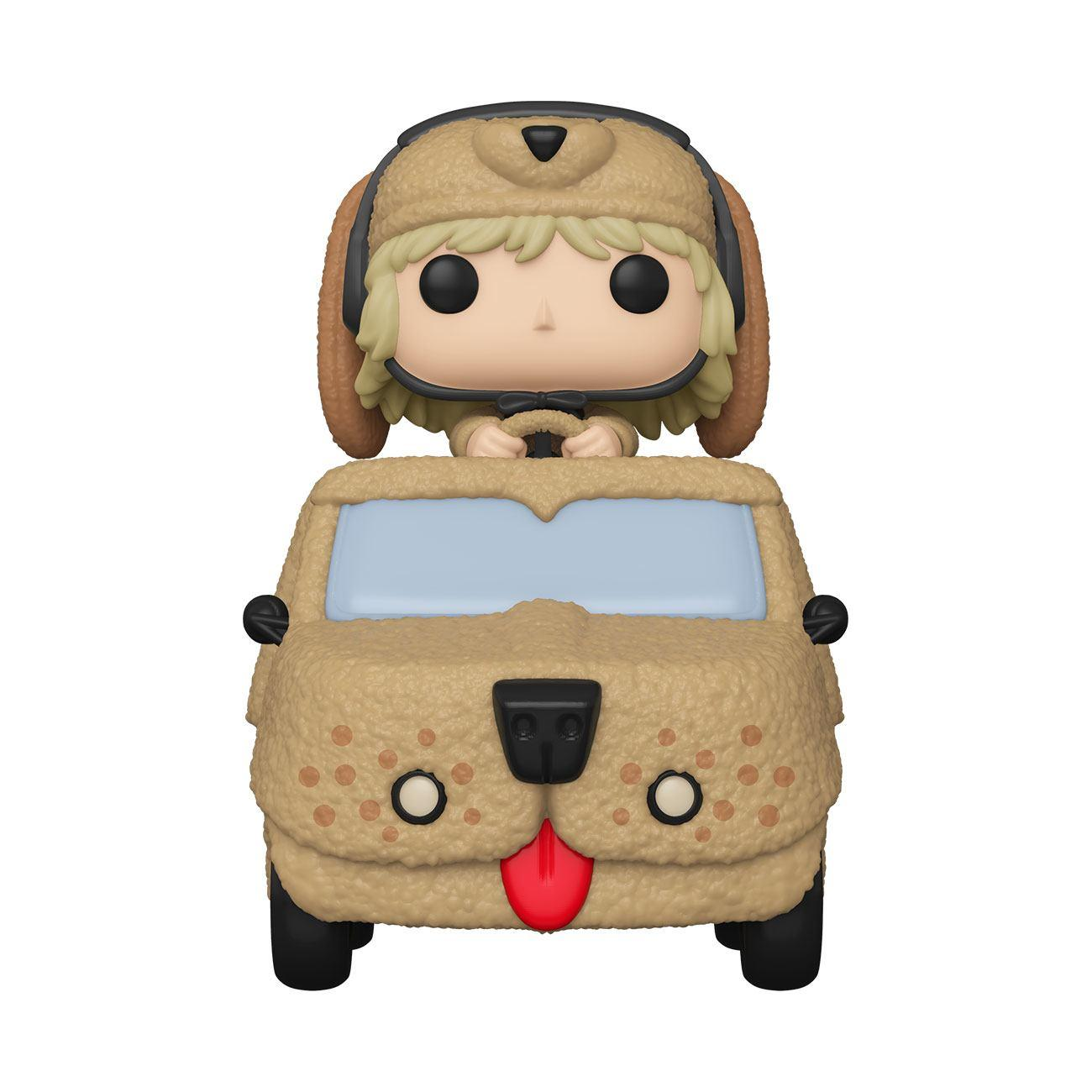 Dumb and dumber pop rides vinyl figurine harry dunne in mutts cutts van 18 cm