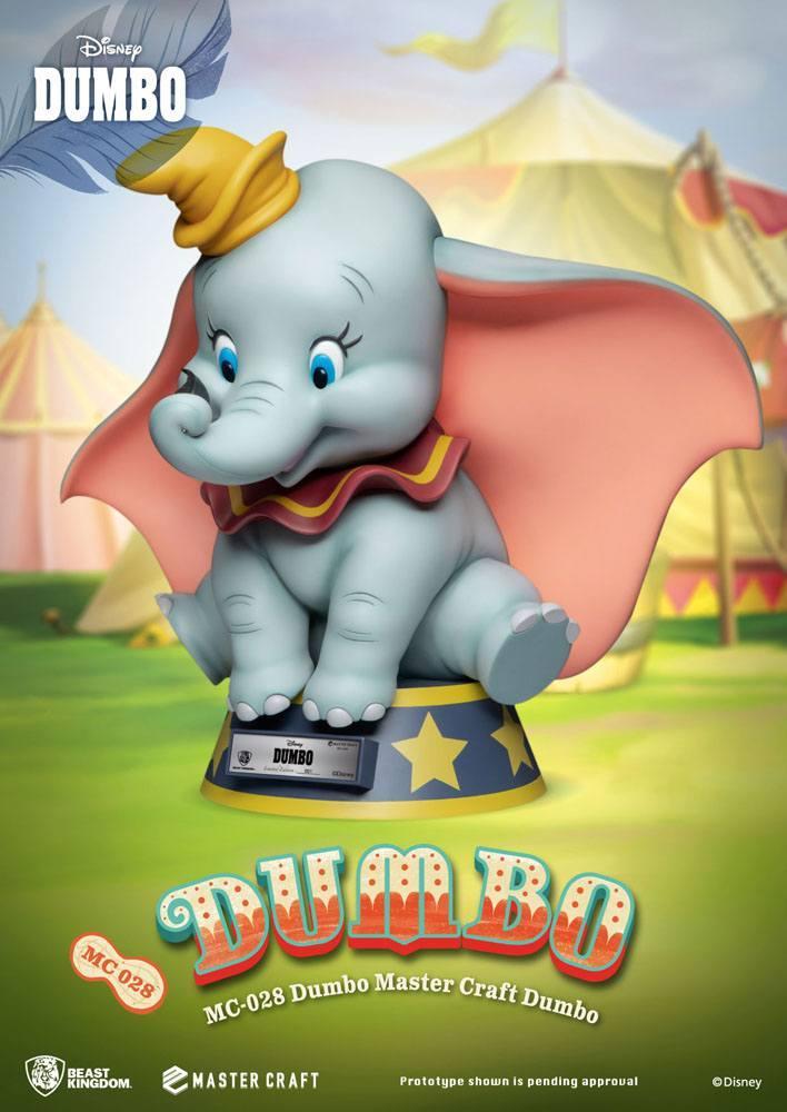 Dumbo statuette master craft disney 32 cm 2