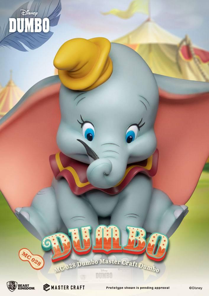 Dumbo statuette master craft disney 32 cm 7