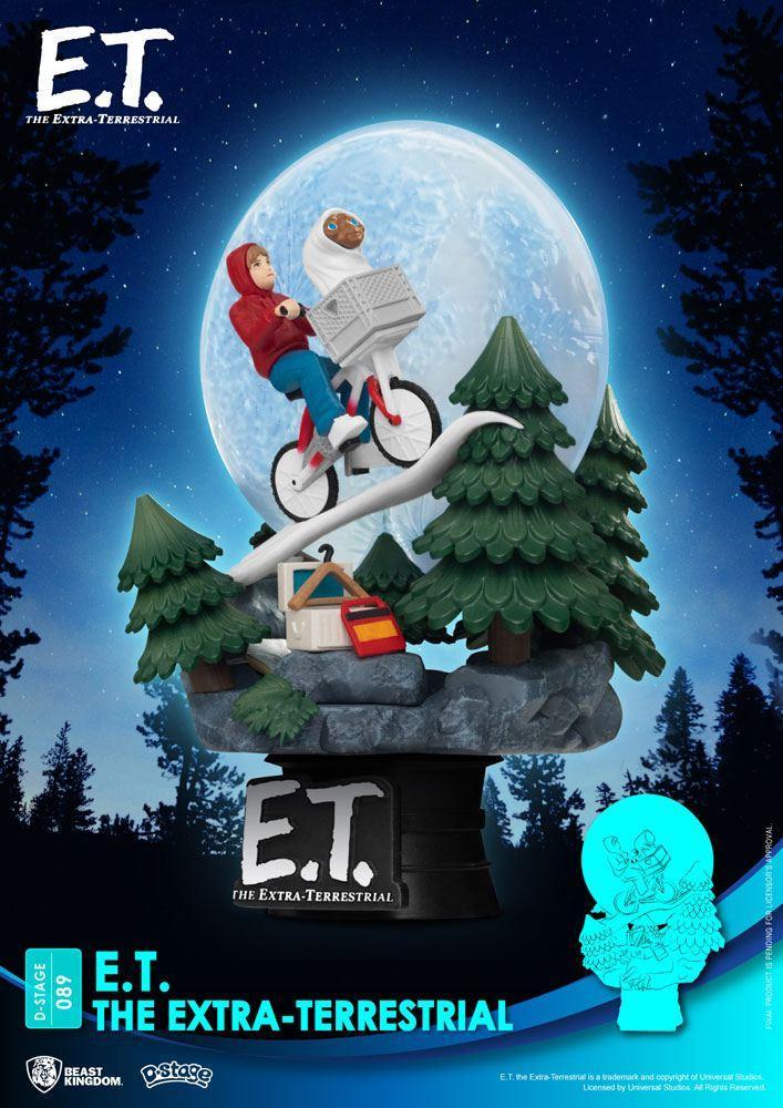 E t l extra terrestre diorama pvc d stage iconic scene movie scene 15 cm 3