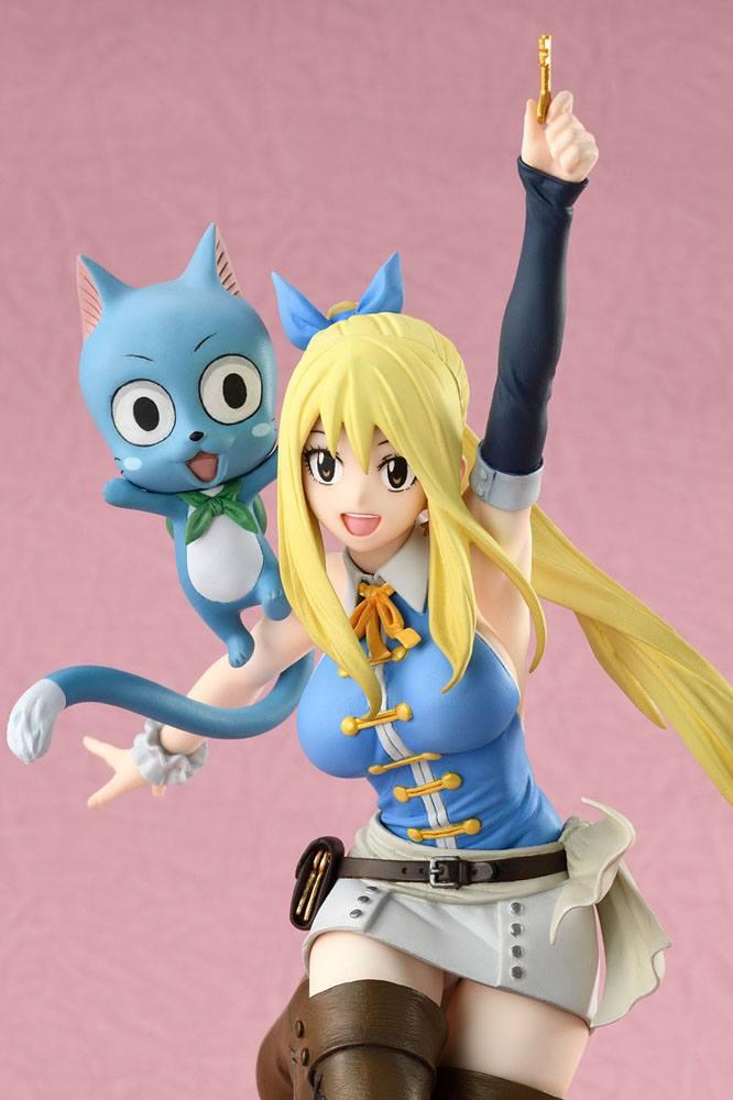 Fairy tail lucy suukoo toys figurine 3 1