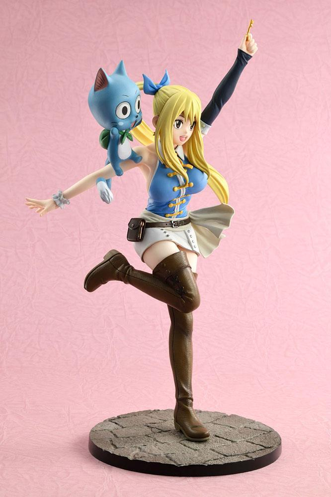 Fairy tail lucy suukoo toys figurine 4 1