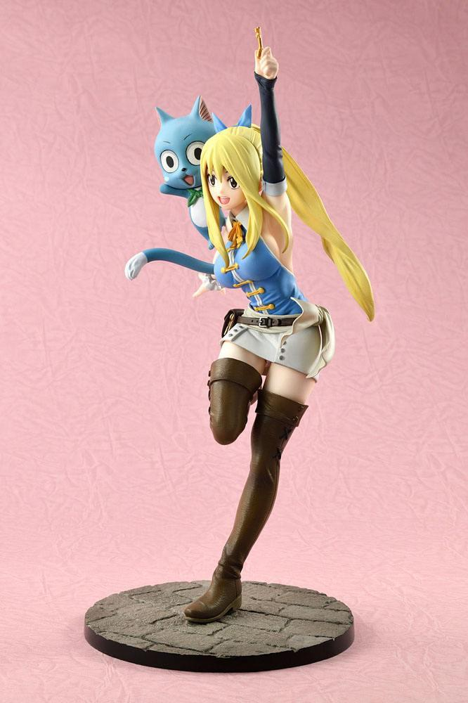 Fairy tail lucy suukoo toys figurine 6