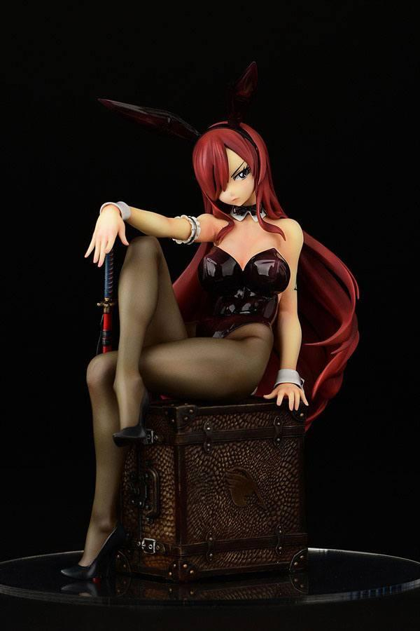 Fairy tail statuette pvc 16 erza scarlet bunny girl style 20 cm 1