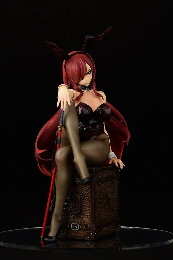 Fairy tail statuette pvc 16 erza scarlet bunny girl style 20 cm 10