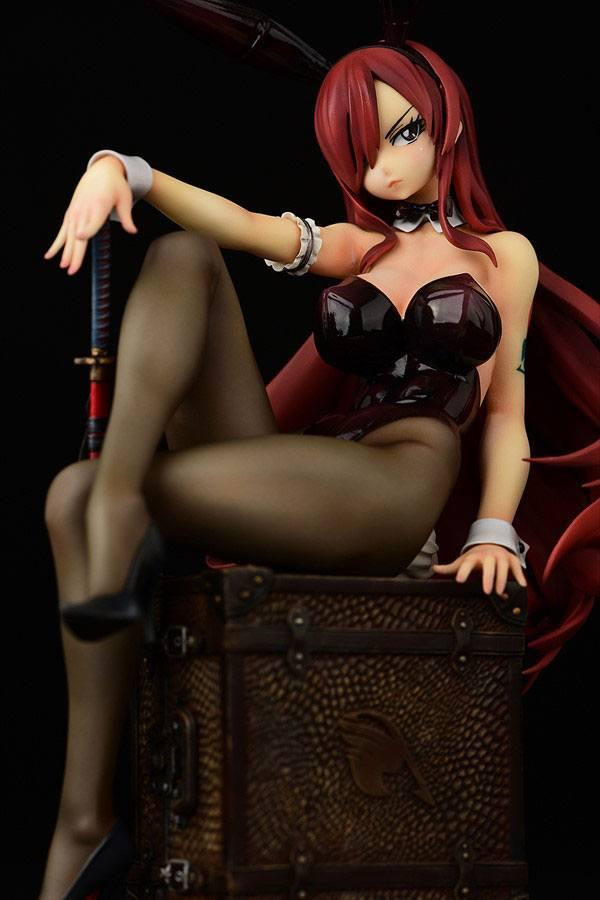 Fairy tail statuette pvc 16 erza scarlet bunny girl style 20 cm 7