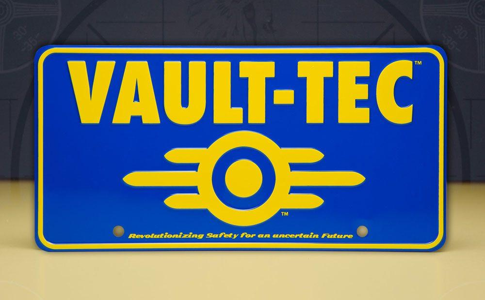 Fallout panneau metal vaul tec 4
