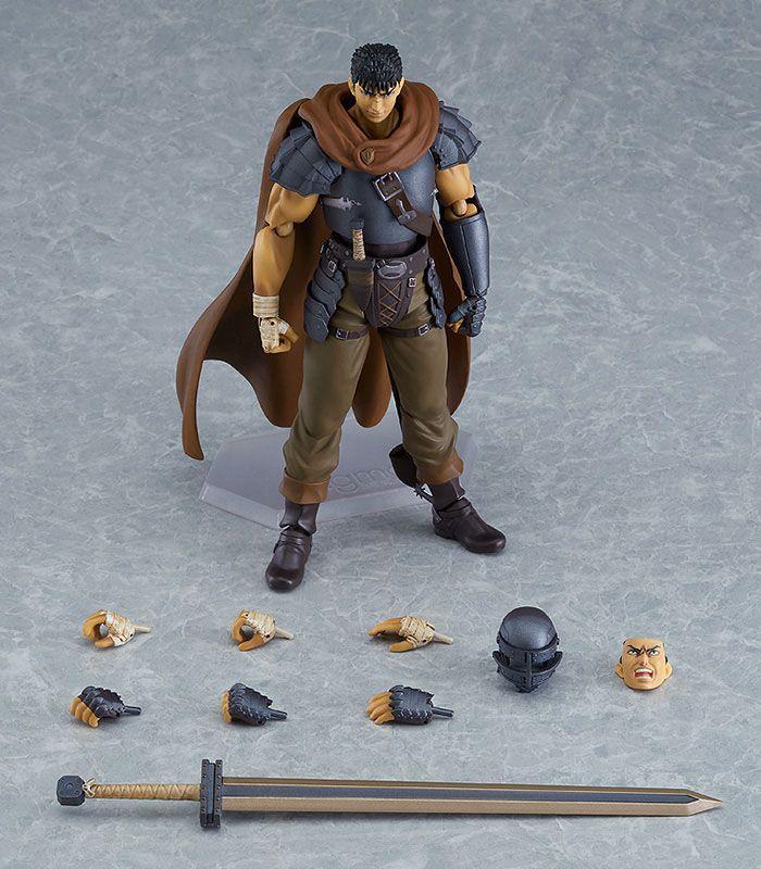 Figurine berserk guts action figure figma collection maxfactory 17cm 1