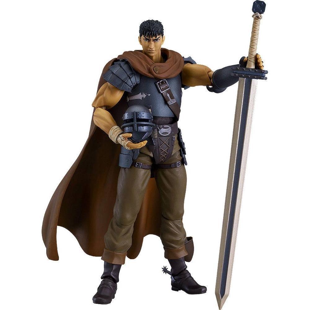 Figurine berserk guts action figure figma collection maxfactory 17cm 2