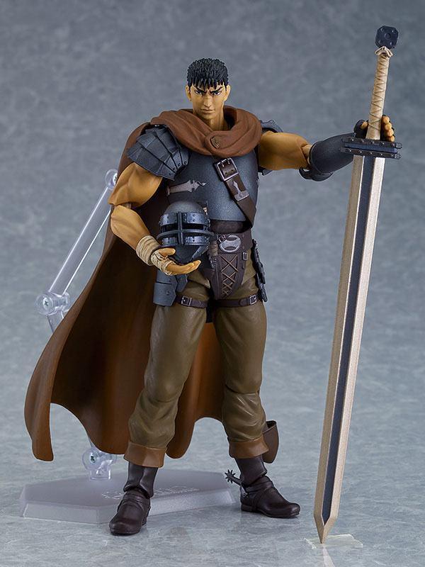 Figurine berserk guts action figure figma collection maxfactory 17cm 3